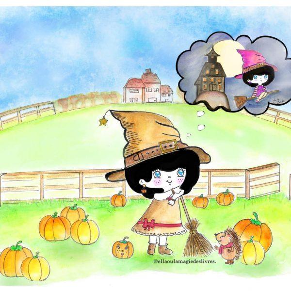 © Ella dans Verveine et l'équinoxe d'automne